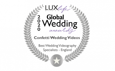 I am delighted to say, I am now an 'Award Winning Wedding Video Specialist.